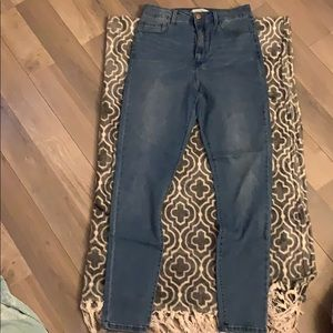 Forever 21 High Waist Jeans Never Worn